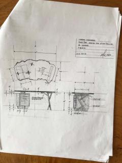 Mira Nakashima Mira Nakashima Conoid Desk in Indian Laurel American Walnut Myrtle Burl - 1477803