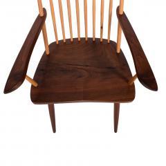 Mira Nakashima Pair New arm chairs design by George Nakashima - 1252399