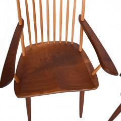 Mira Nakashima Pair New arm chairs design by George Nakashima - 1252400