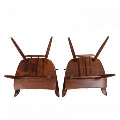 Mira Nakashima Pair New arm chairs design by George Nakashima - 1252402