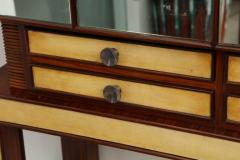 Mirror and Rosewood Bar made in Italy 1935 - 463140