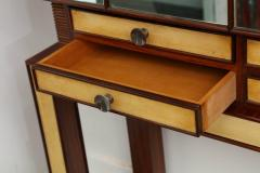Mirror and Rosewood Bar made in Italy 1935 - 463142
