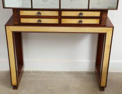 Mirror and Rosewood Bar made in Italy 1935 - 463144