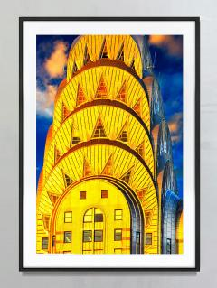 Mitchell Funk Chrysler Building Top Art Deco Architecture New York City - 1914556