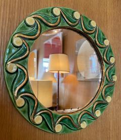 Mithe Espelt Ceramic Mirror France 1970s - 2012757