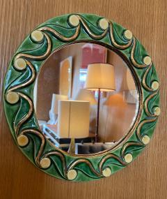Mithe Espelt Ceramic Mirror France 1970s - 2012758