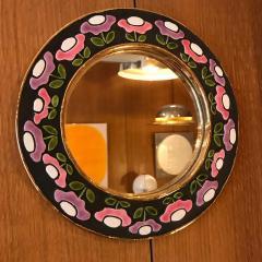 Mithe Espelt Ceramic Mirror by Mith Espelt France 1970s - 2119952