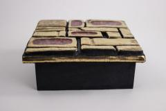 Mithe Espelt Mith ESPELT 1960s Jewellery Chest with Gilded Ceramic Lid not Lembo  - 1565735