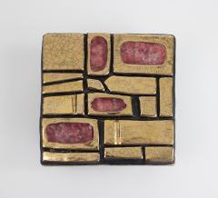 Mithe Espelt Mith ESPELT 1960s Jewellery Chest with Gilded Ceramic Lid not Lembo  - 1565739