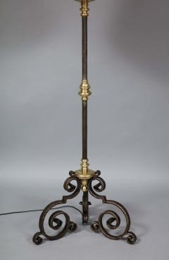 Mixed Metal Floor Lamp - 1811386