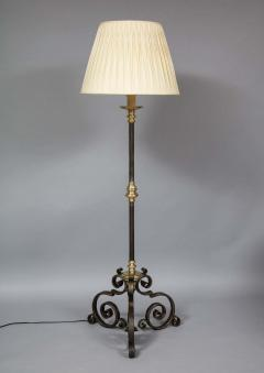 Mixed Metal Floor Lamp - 1811388