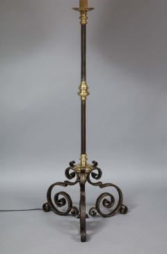 Mixed Metal Floor Lamp - 1811392