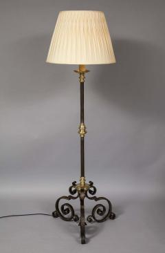 Mixed Metal Floor Lamp - 1811393