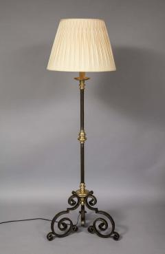 Mixed Metal Floor Lamp - 1811394