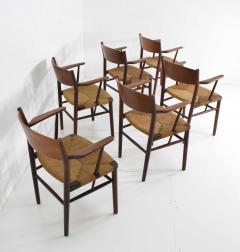 Mobel Fabrik B rge Mogensen Dining Chairs by S borg M belfabrik in Denmark - 1240085