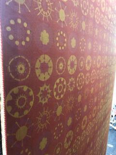 Modern Art Midcentury Monumental Wall Art Wool Tapestry - 1421287