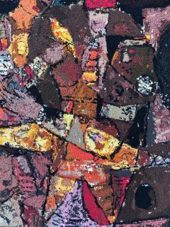 Modern Art Midcentury Monumental Wall Art Wool Tapestry - 1421290