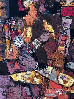 Modern Art Midcentury Monumental Wall Art Wool Tapestry - 1421295