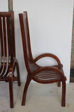 Modern Bentwood Tall Back Dining Chairs Set of 6 - 1365039