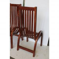 Modern Bentwood Tall Back Dining Chairs Set of 6 - 1365040