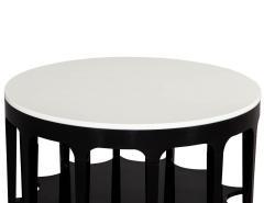 Modern Black and White Custom Center Table - 1738352