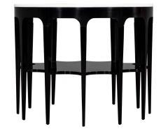 Modern Black and White Custom Center Table - 1738360
