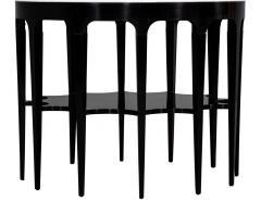 Modern Black and White Custom Center Table - 1738361