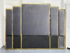 Modern Brass King Size Headboard - 2142415