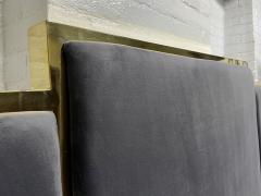 Modern Brass King Size Headboard - 2142416