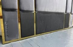 Modern Brass King Size Headboard - 2142417