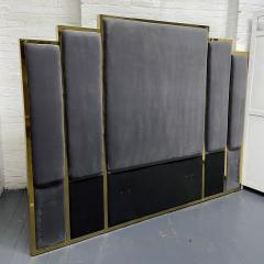 Modern Brass King Size Headboard - 2142418