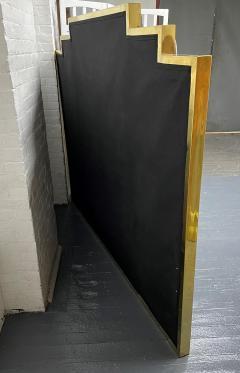 Modern Brass King Size Headboard - 2142419