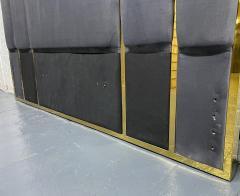 Modern Brass King Size Headboard - 2142420