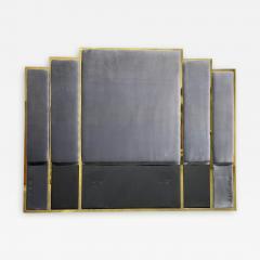 Modern Brass King Size Headboard - 2144686