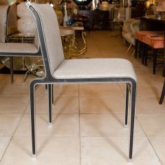 Modern Chrome Dining Chairs - 66111