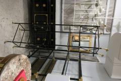 Modern Ebonized Bookcase Etagere in the Regency Manner - 553076