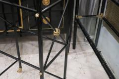 Modern Ebonized Bookcase Etagere in the Regency Manner - 553079