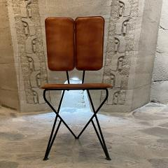 Modern Pablex Iron Leather Tripod Chair Pablo Romo for Ambianic - 2028078