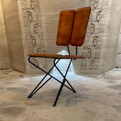 Modern Pablex Iron Leather Tripod Chair Pablo Romo for Ambianic - 2028079