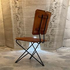 Modern Pablex Iron Leather Tripod Chair Pablo Romo for Ambianic - 2028081