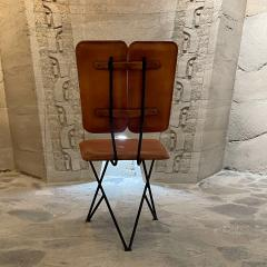 Modern Pablex Iron Leather Tripod Chair Pablo Romo for Ambianic - 2028083