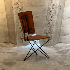 Modern Pablex Iron Leather Tripod Chair Pablo Romo for Ambianic - 2028084