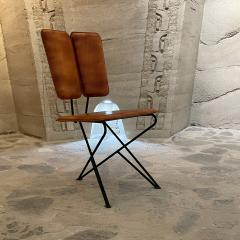 Modern Pablex Iron Leather Tripod Chair Pablo Romo for Ambianic - 2028085