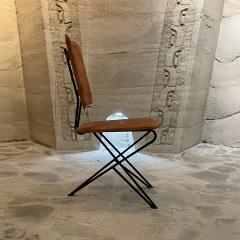 Modern Pablex Iron Leather Tripod Chair Pablo Romo for Ambianic - 2028086