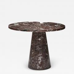 Modern Small Griotte Marble Side Table - 1707102