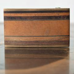 Modern Urban Cowboy 1970s KENNETH REID Brass Wood Belt Buckle New Mexico - 1274271