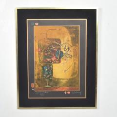 Modern Vietnamese French Still Life Original Color Lithograph by HOI LEBEDANG - 1278539