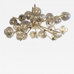 Moderne Iridescent Smoke Sputnik Ceiling Fixture Contemporary - 1767132