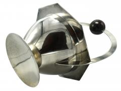 Modernist 1930s French Silver Plated Coupe - 969336