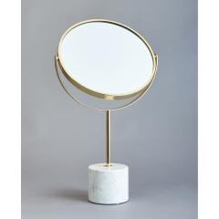 Modernist Adjustable Table Mirror Italy 1950s - 1633330